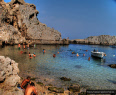 St Pauls bay in Lindos - Rhodes