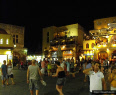 One of the main squares in Rhodes Old Town